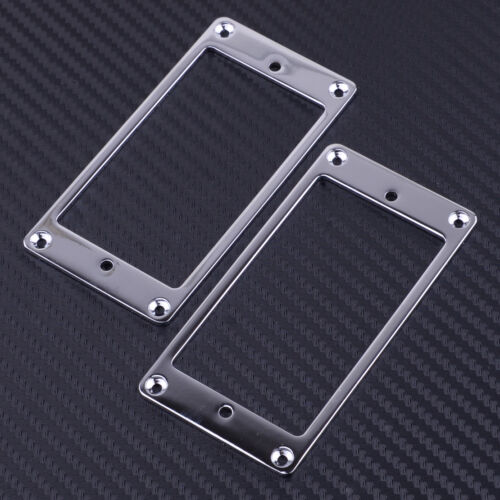 2 Stück Mounting Ring Rahmen Pickup Montagerahmen für Humbucker E-Gitarre