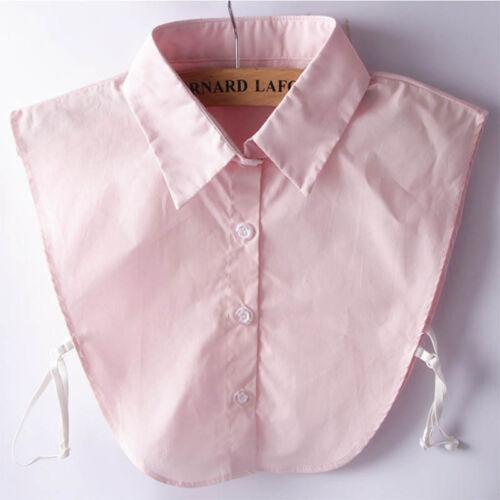 Ladies Women Detachable Lapel Shirt Fake Collar Neckwear Clothing Accessories