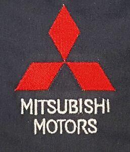 New Custom Dickies Navy Embroidered Mitsubishi Motors Logo Mechanic Work Shirt Ebay