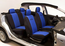 SET OF BLUE HIGH QUALITY SEAT COVERS PROTECTORS FOR PEUGEOT 206