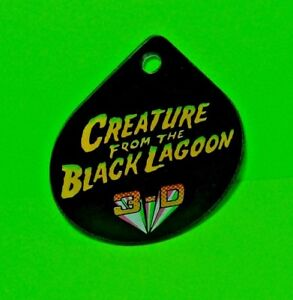 Creature-From-Black-Lagoon-Pinball-Machine-Promo-Key-Chain-Original-1992-Bally