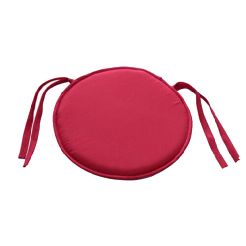 Indoor Dining Garden Patio Home Office Kitchen Round Chair Seat Pads Cushion UK