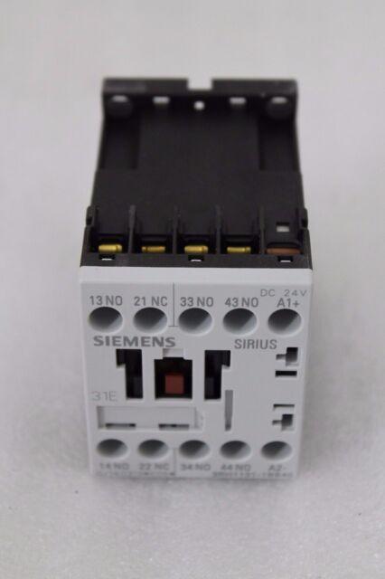 Siemens Es Relé de Control 3RH1131-1BB40 3S+ 10E Dc 24V 3A Conexión Tornillo