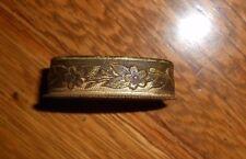 WW2 Japanese Sword Kai Gunto Brass Fuchi With Cast Seppa