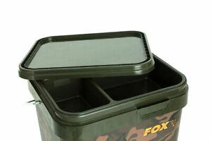 FOX-NEW-BUCKET-INSERT-TRAY-For-17L-Fox-Spomb-Carp-Fishing-Bait-Buckets-CBT009