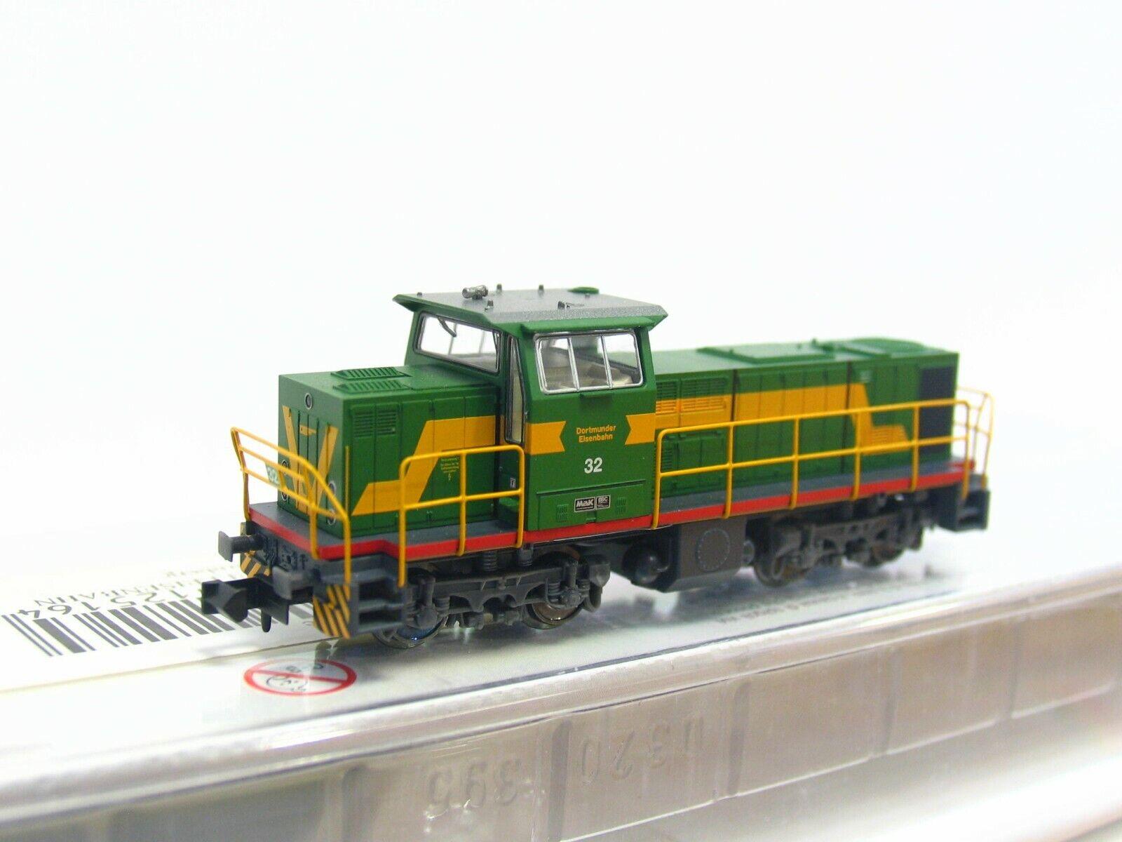 Minitrix N 12516 Diesellok Mak DE1002 Lok 32 DE DSS OVP (LN1098)
