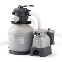Intex 2100 GPH Krystal Clear Sand Filter Swimming Pool Pump | 28645EG