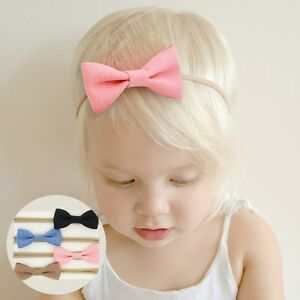 4Pcs-Kids-Girls-Baby-Bowknot-Hair-Band-Headband-Set-Toddler-Headwear