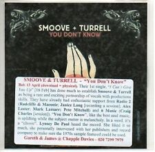 (AA69) Smoove + Turrell, You Don't Know - DJ CD