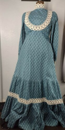 Vintage 70s Gunne Sax Black Label Dress