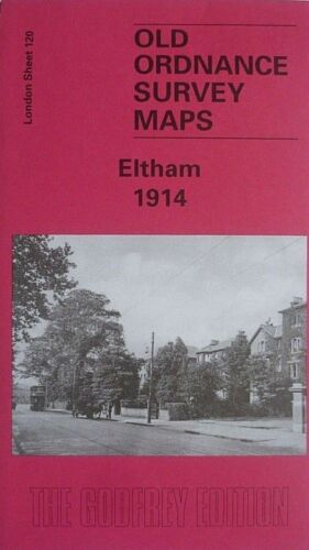 Old Ordnance Survey Maps Eltham  London 1914 Godfrey Edition Special Offer