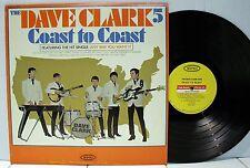 Rare Rock LP - The Dave Clark 5 - Coast To Coast - Epic # LN 24128