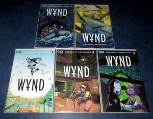 WYND-1-2-3-4-5-of-5-1st-print-complete-set-JAMES-TYNION-IV-BOOM-STUDIOS-NM