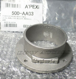 Genuine APEXi Power Air Filter Flange Adapter 75mm 80mm 3.15in Intake Universal