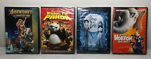 Family-Fun-Movie-Lot-of-4-DVD-New-SEALED-Adventures-in-Babysitting-Corpse-Bride