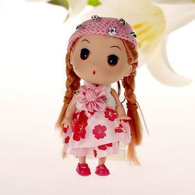 Lovely Pink Hat Korea Ddung Cell Phone Backpack Keychain Girls Party Gift 12cm