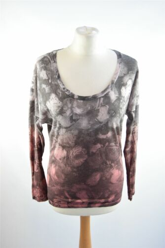 Smith Patterned Cotton 100 Top And Paul S Grey Pink Size dOwx4qdSR