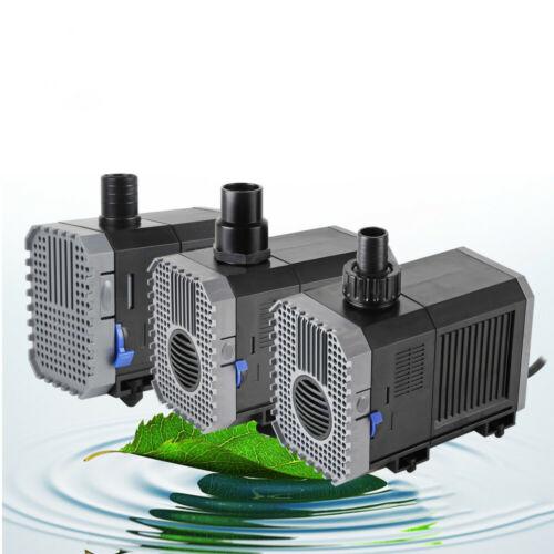 Teichpumpe Teichfilter Bachlaufpumpe Filterpumpe Wasserpumpe Tauchpumpe IPX8