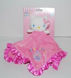 Hello-Kitty-Lovey-Baby-Plush-Security-Toy-New