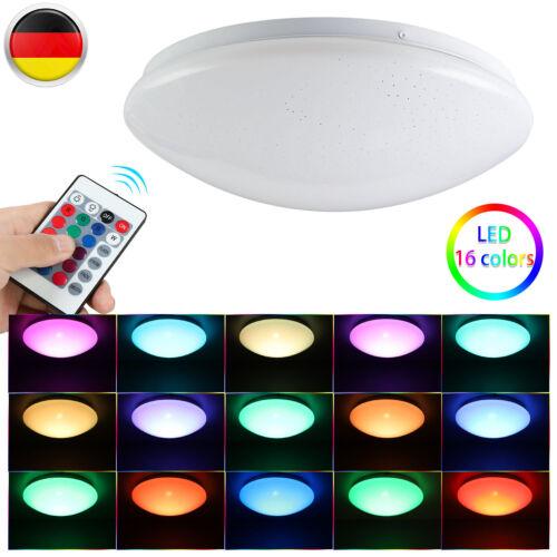 24W Dimmbar RGB LED Sternenhimmel Deckenlampe Bluetooth Lautsprecher Remote