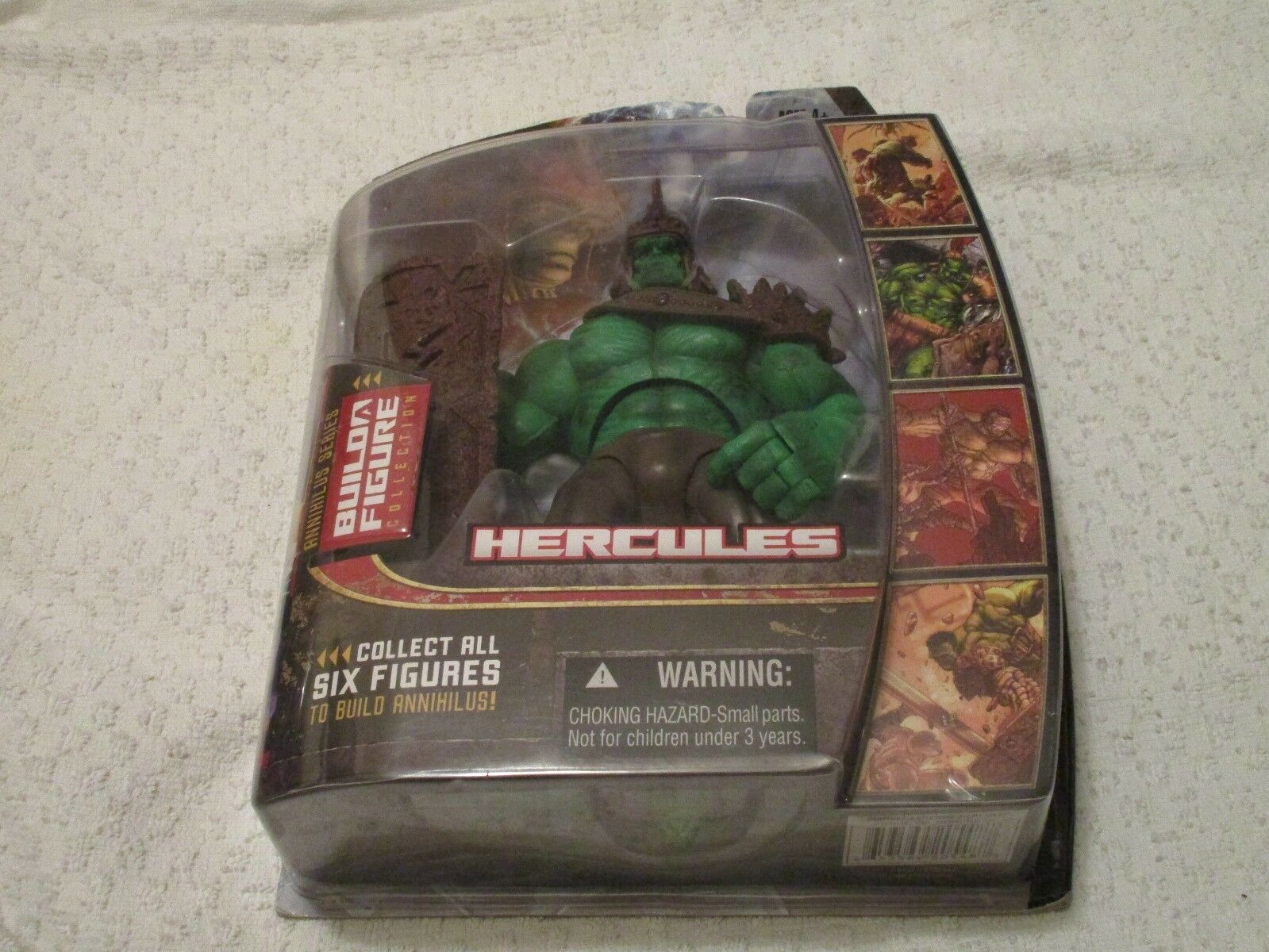 Hasbro marvel - legenden annihilus reihe planet hulk grnen arm herkules - label