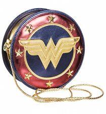 Official Metallic Wonder Woman Shield Cross Body Bag