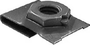 Clipsandfasteners Inc 50 J Type Cage Nuts 1//4-20 Screw Size