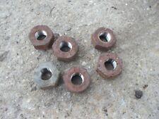 Massey Ferguson 35 Mf Tractor 6 Rear Wheel Hub Tapered Lug Nut Nuts