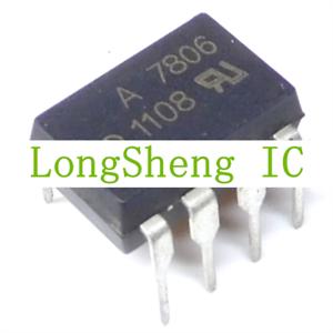 HP HCPL-7806 DIP CMOS//TTL Compatible Low Input Current.