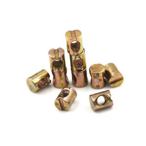 10pcs-M5-Barrel-Bolts-Nut-Cross-Dowel-Slotted-Furniture-Nut-for-Beds-Chair
