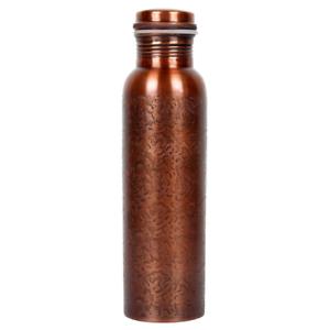 Limra  Arts Antique Design Copper Water Bottle 1000   Gym & Traveling Bottle  fitness retailer