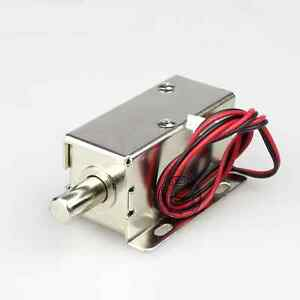 Image Is Loading Mini Electric Bolt Lock DC12V Small Cabinet Lock