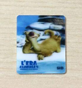 CARD KINDER MERENDINE -SERIE- L'ERA GLACIALE 4 - MINI CARD N°6 SID - AS NEW FefEMfRl-09120348-598534168