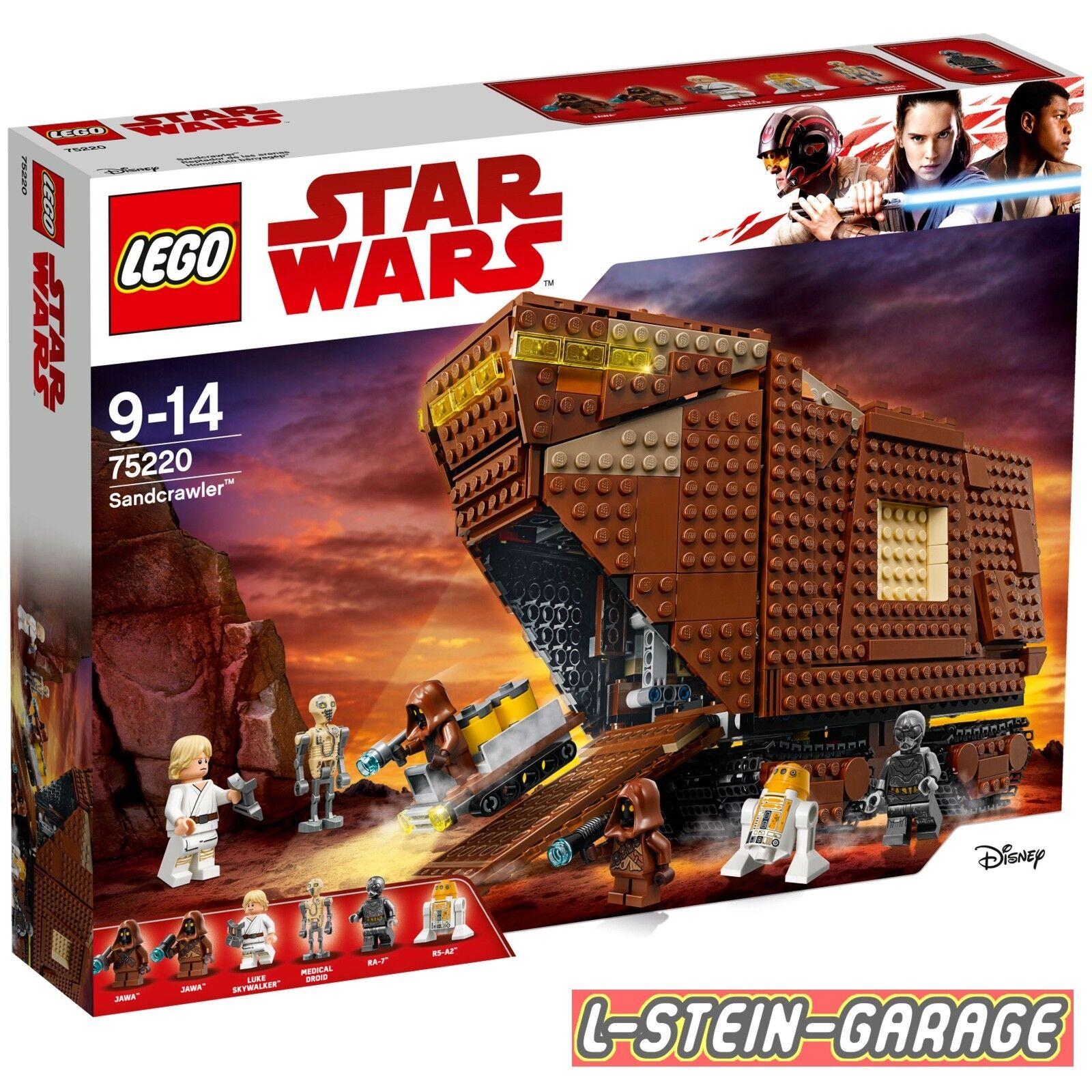 LEGO® Star Neu Wars 75220 Sandcrawler™ Neu Star & OVP c8030e
