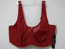 1st & Curve By Modern Movement Size 38K Sunset Red New Womens Bra