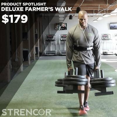 Strencor Deluxe Strongman FARMER'S WALK Carry Handles and Bars - Pair   eBay