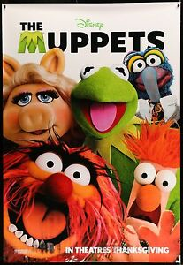 THE-MUPPETS-2-Sided-Bus-Shelter-Movie-Poster-4-039-x6-039-TheMuppets-Disney-Muppets