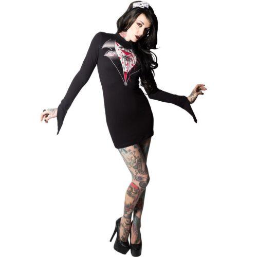alternative witch sleeves Kreepsville 666 Dracula Dress Gothic clothing