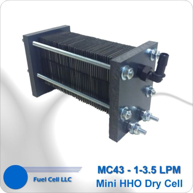 HHO DRY CELL 316L 19 PLATES HYDROGEN GENERATOR