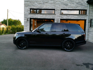 RANGE ROVER BLACK PACK FORGIATO 24 POUCES