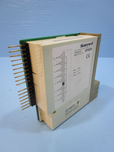 Honeywell XF 522A Analog Output PLC Module XF522 A In XF522 A 11 V DC