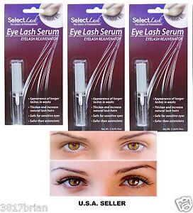 bb74f400f7c 3 Select LASH Growth Extension Enhancer SERUM~Thicker Longer Eyelash ...
