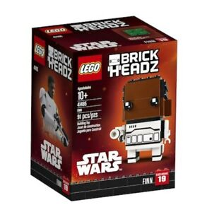 Lego-41485-BrickHeadz-Star-Wars-Finn-91-Pieces-New-with-Box