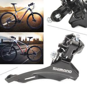 Shimano-Tourney-FD-TZ30-7-6-42T-Front-Derailleur-Bike-Bicycle-Parts-Black