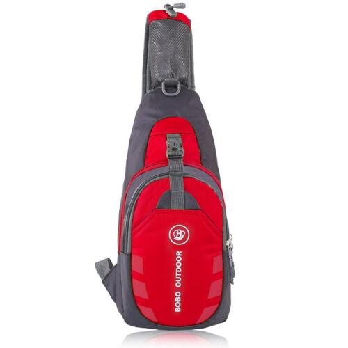 Mens Sling Bags Chest Pack Travel Backpack Messenger Shoulder Cross Body Hiking