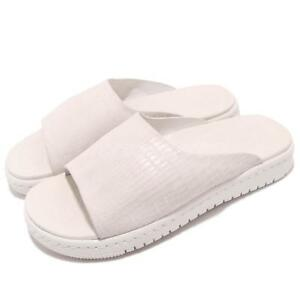 finest selection 7e867 6c589 Details about Nike Wmns Jordan Modero 1 Phantom White Womens Slides Sandals  AO9919-014