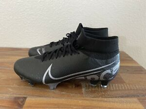 Nike Mercurial Superfly 7 Pro FG Soccer Cleats Black AT5382-001 Men Sz  5