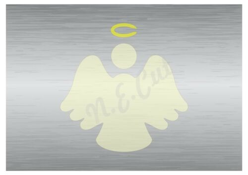 Christmas Angel stencil 2 A5 to A0 14cm to 1.2 meters or bigger CMAS078
