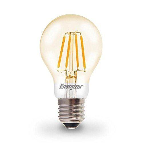 Energizer 6.2W = 60W LED Filament GLS Vintage ES E27 [Energy Class A+]