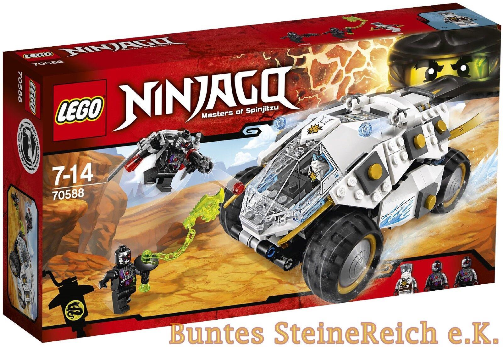 LEGO® Ninjago: 70588 Titan-Ninjamobil & 0.-€VERSAND & OVP & NEU